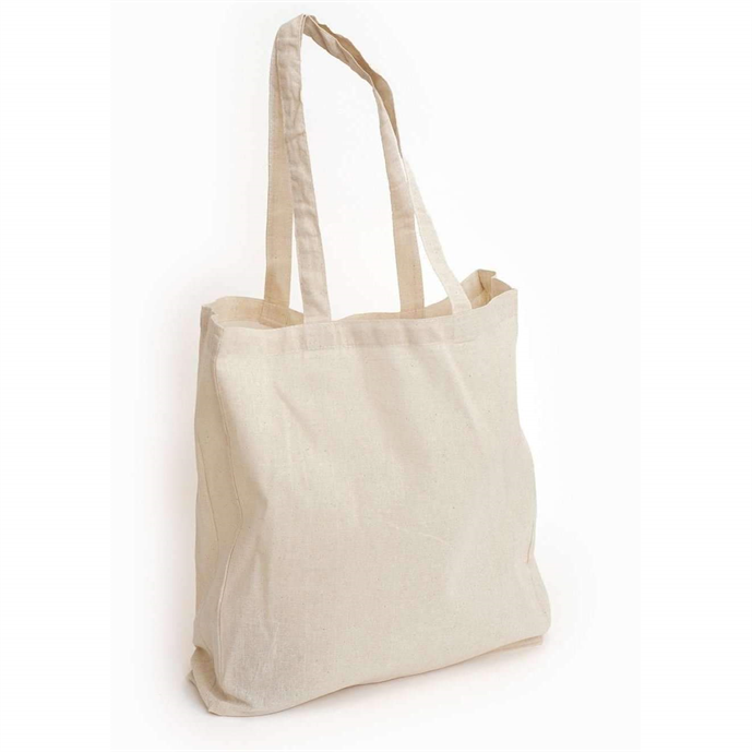 Natural Soft Tote Bag 41cm x 37cm sublimation blanks