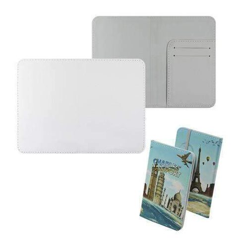 Passport holder White sublimation blanks