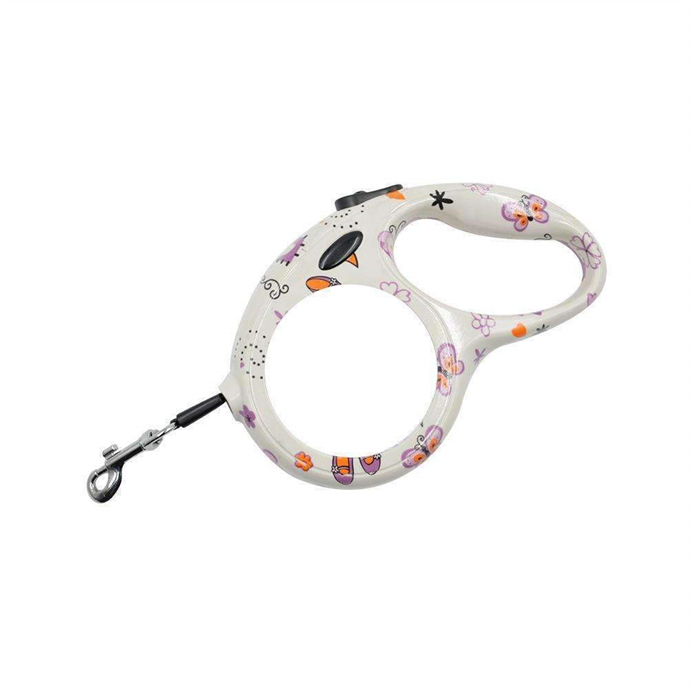 Retractable pet lead Butterfly Design Small sublimation blanks