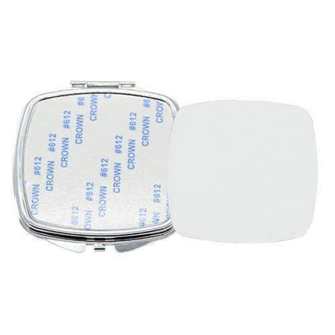 Square Compact Pocket Mirror sublimation blanks