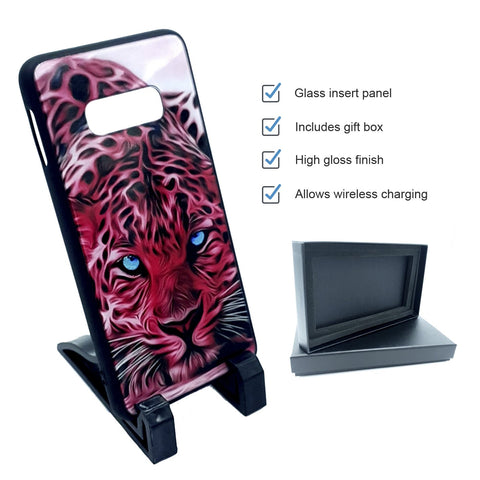 SubliGlass Galaxy S10e sublimation glass case
