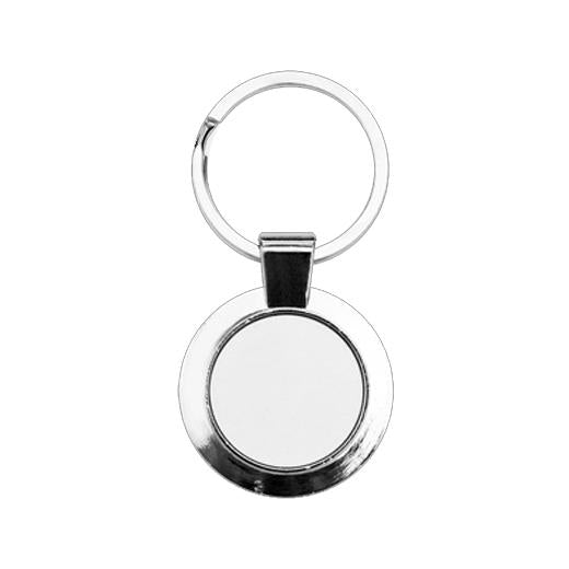 Sublimation Blank round keyring