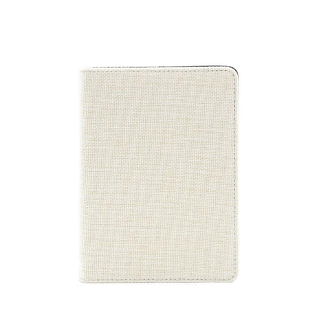 Sublimation blank a6 linen notebook