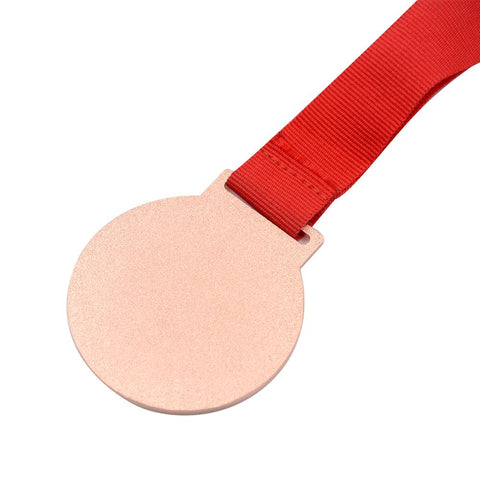 Sublimation blank bronze medal award