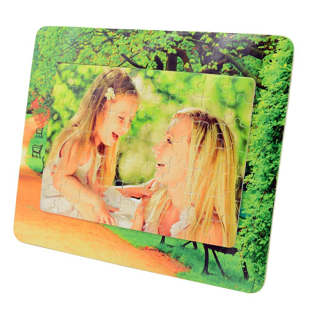 Sublimation blank jigsaw puzle 63pcs  - p40