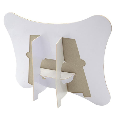sublimation blank cardboard jigsaw puzzle with stand