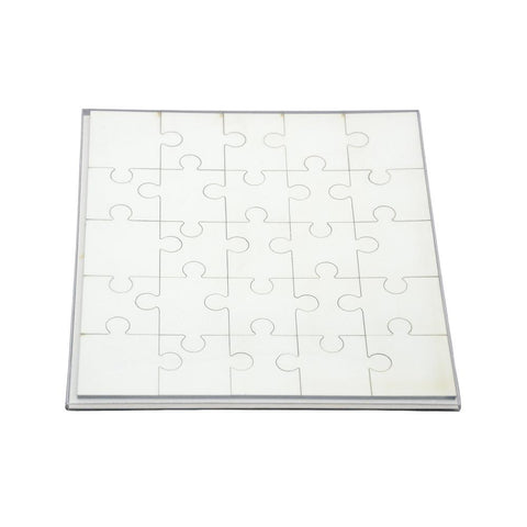 Sublimation blank mdf square jigsaw