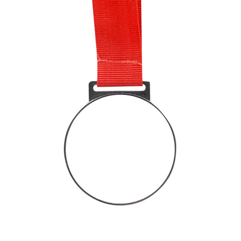 Sublimation blank silver medal award