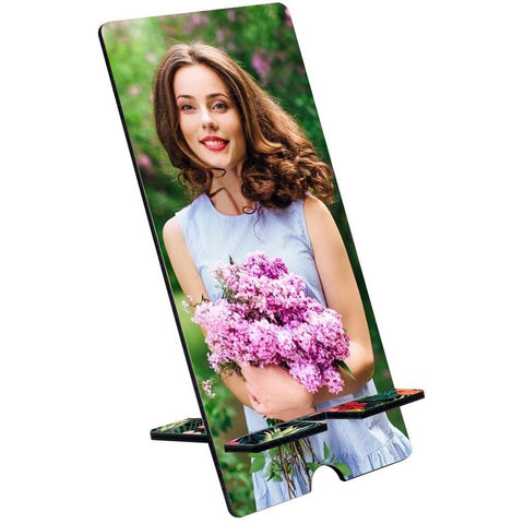 Sublimation mdf phone stand