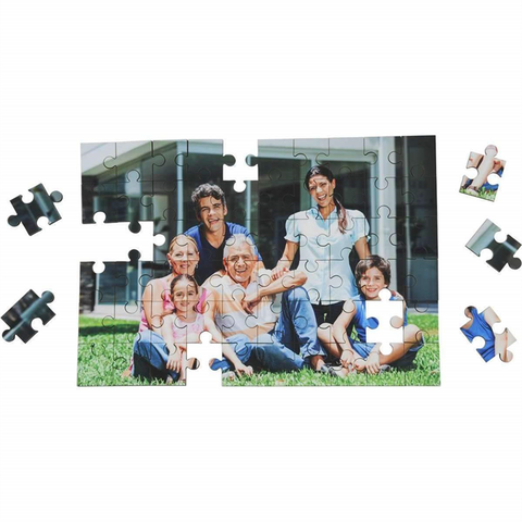 UniSub Jigsaw A4 size 60 pcs sublimation blanks