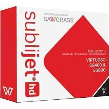 Virtuoso SG400 SG800 Cartridge Black ( 42ml ) sublimation blanks