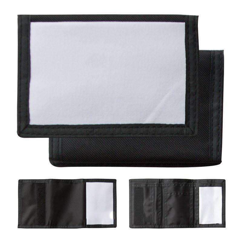 Mens Nylon Wallet - Black