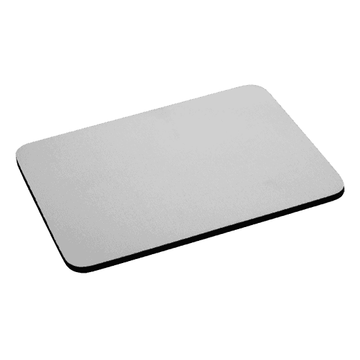Fabric mouse pad with 5mm black rubber base