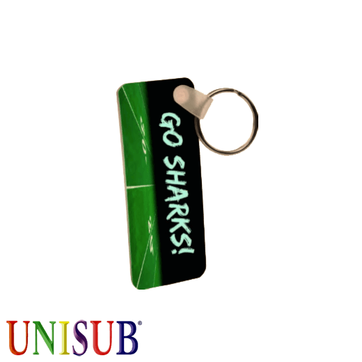 UniSub - Rectangle - Plastic keyring