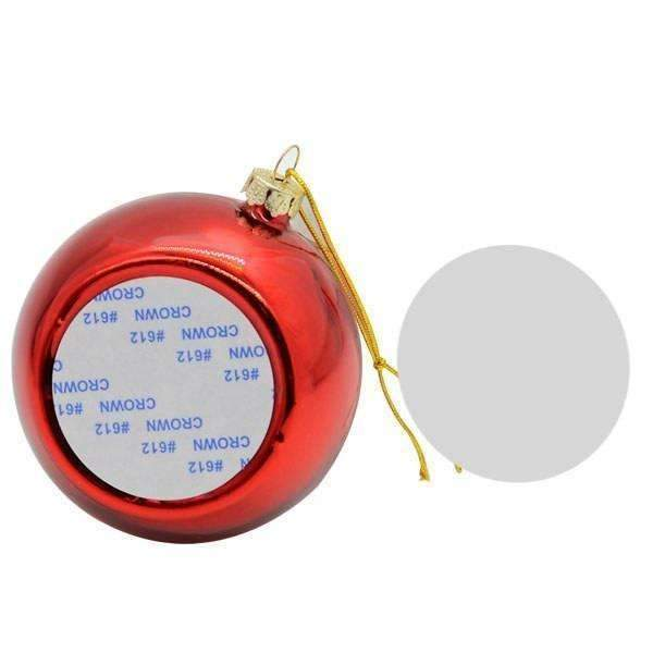 Christmas bauble - Red