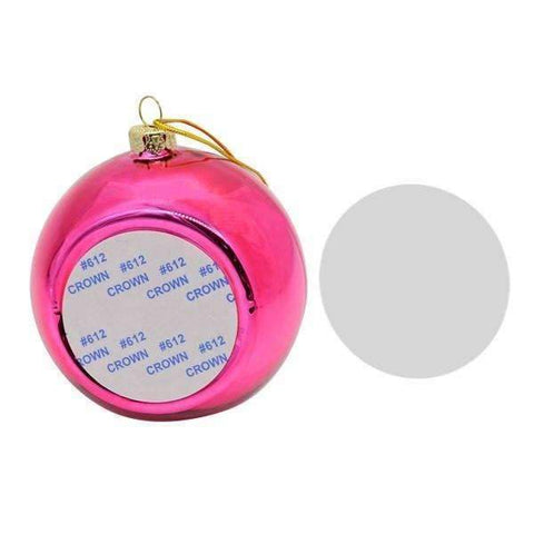 Christmas bauble - Pink