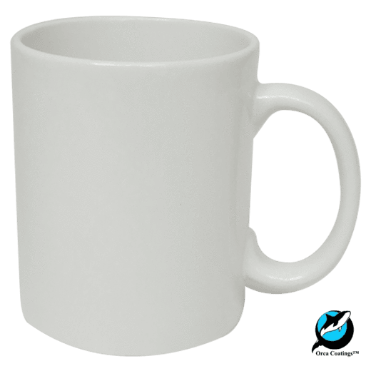 Sublimation blank 1 x Single 15oz Orca Coated Mug