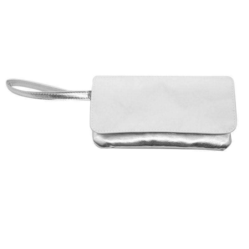 Silver Sublimation Blank Cosmetic bag