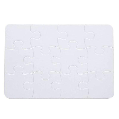 12pcs sublimation blank jigsaw