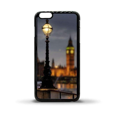iPhone 6 Plus Plastic Case - Black sublimation blank plastic case