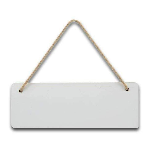 MDF Rectangle door plaque