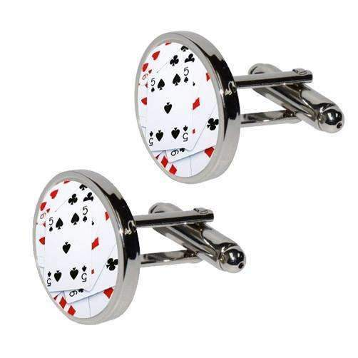 Round Cufflinks - Sold in pairs