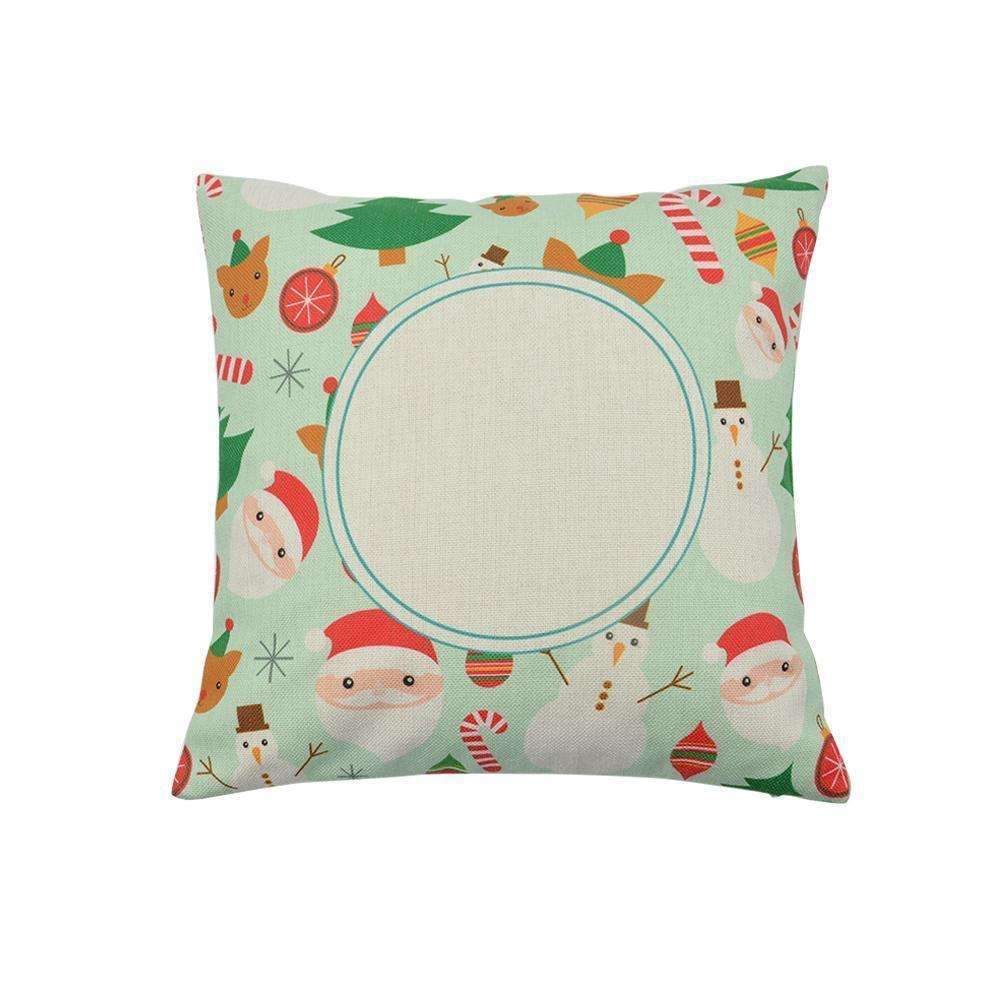 sublimation blank pre-printed cushion cover