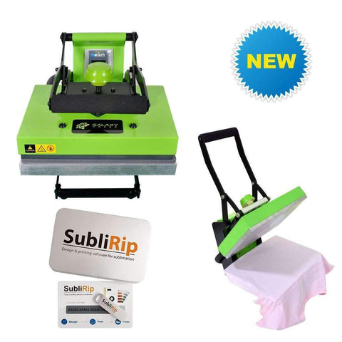 Dino hobby heat press machine with SubliRip software