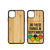 SubliWood- iPhone 11 6.1 - Bamboo Case