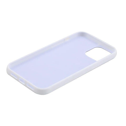 iPhone 12 Sublimation blank rubber phone case white