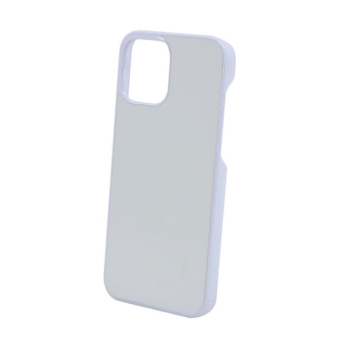 iPhone 12 sublimation blank pc plastic case white