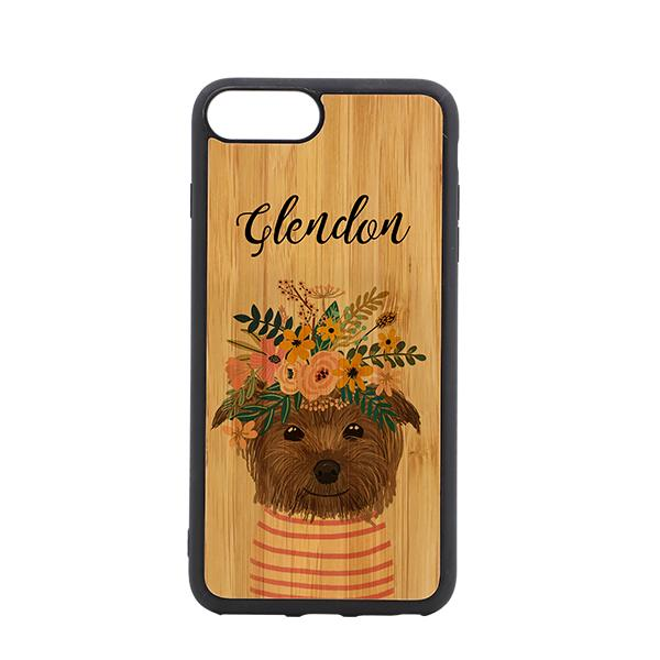 iPhone 7 and 8 plus sublimation blank  bamboo phone case