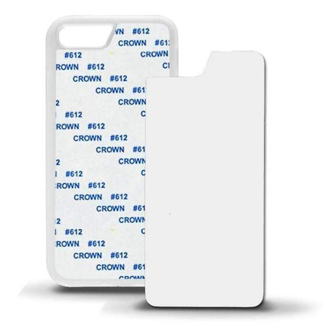 iphone 7 sublimation rubber case