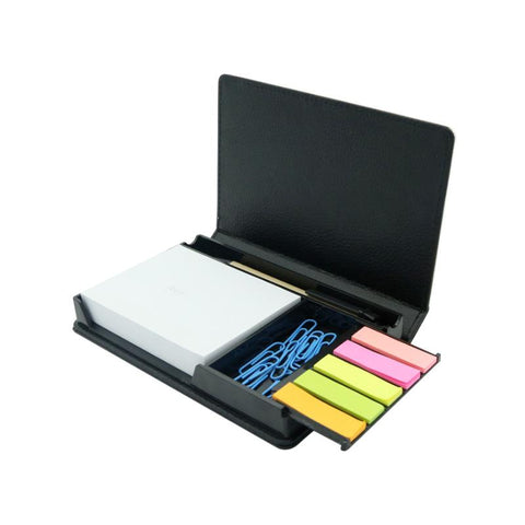 sublimation blank pu leather sticky note box