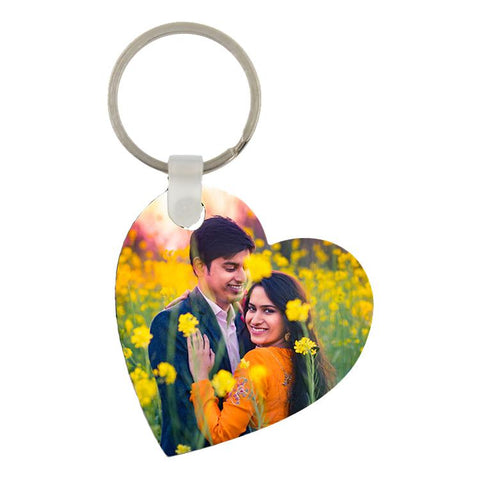 subliflex heart sublimation keyring