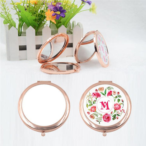 sublimation blank compact pocket mirror