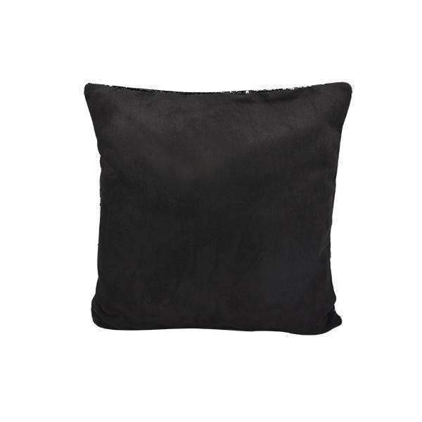 Black Sequin Cushion cover - 40 x 40 cm