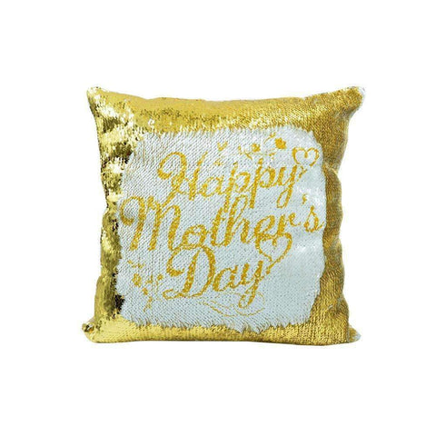 sublimation blank sequin cushion cover