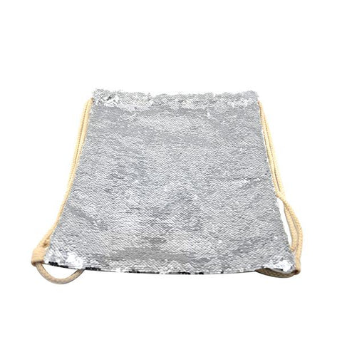 sublimation blank silver sequin cushion cover
