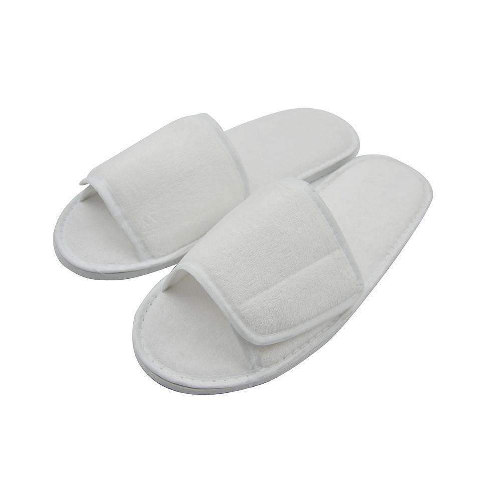 85120795c0c9c Velvet Slippers with velcro opening