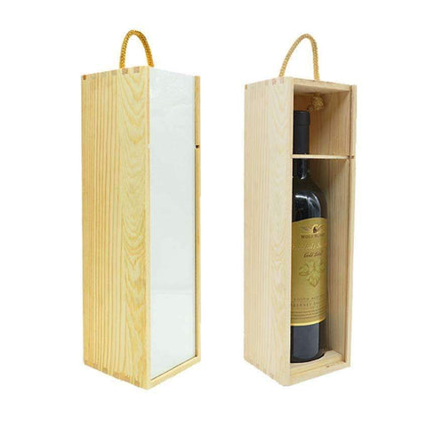 sublimation blank wine gift box