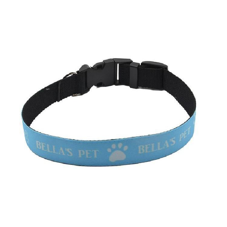 sublimation blank pet dog collar medium