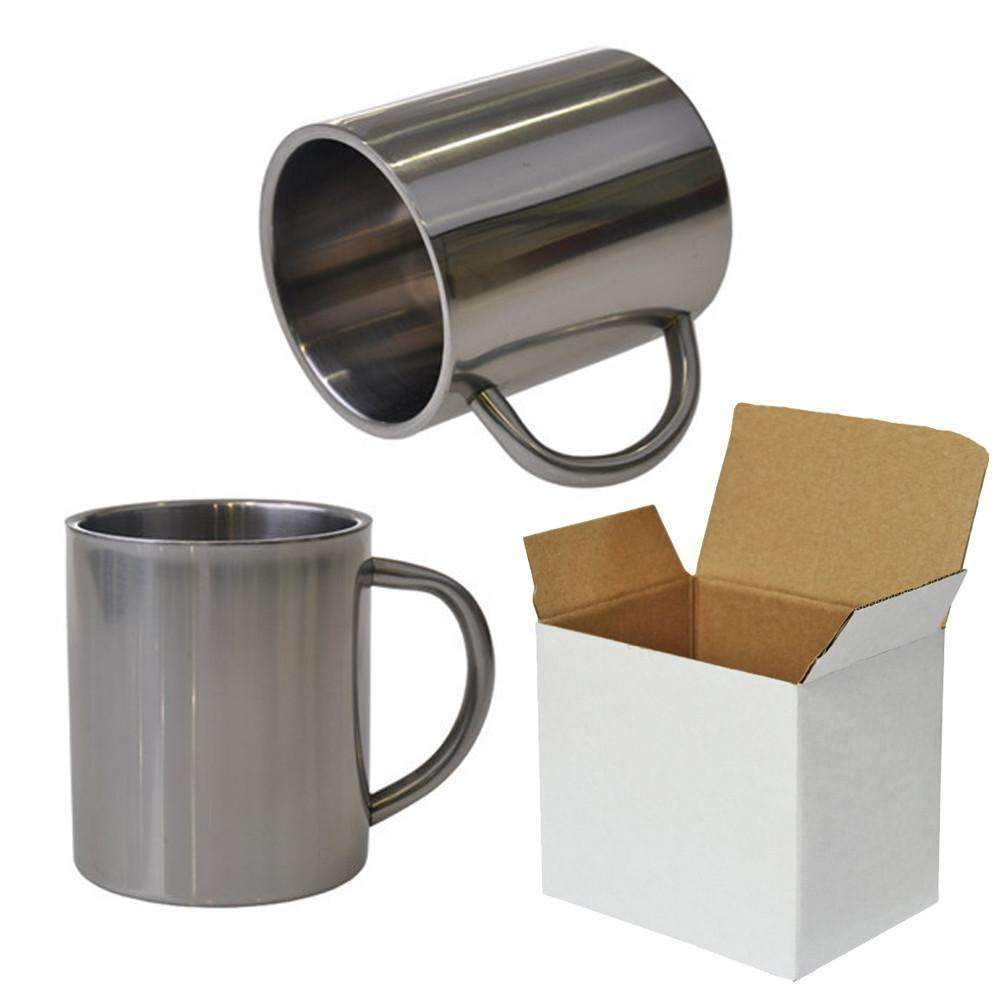 1e04b2559d7 300ml Stainless steel sublimation mug with box