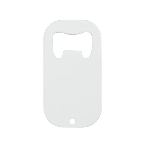 sublimation blank Stainless steel white bottle opener