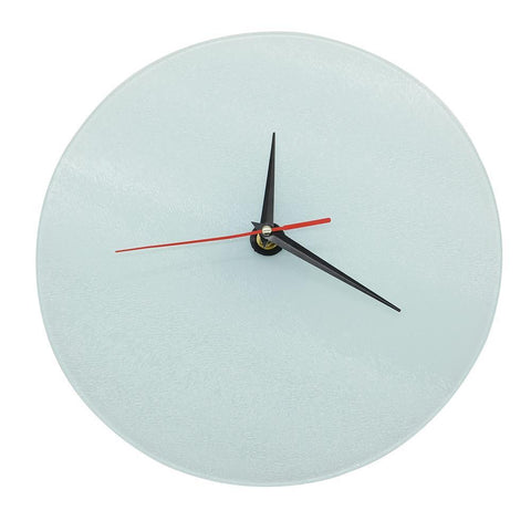 sublimation blank 20cm glass clock