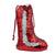 Red Sequin Christmas Stocking - 27 x 17 cm