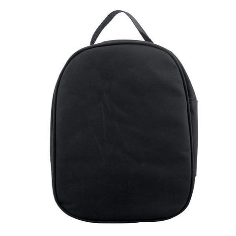 sublimation blank black kids lunch bag