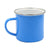 1 x Single Blue Enamel 10oz Photo Mug + Gift  box