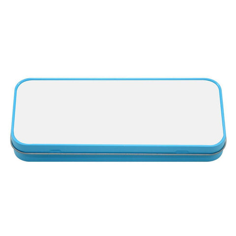 sublimation blank blue pencil tin