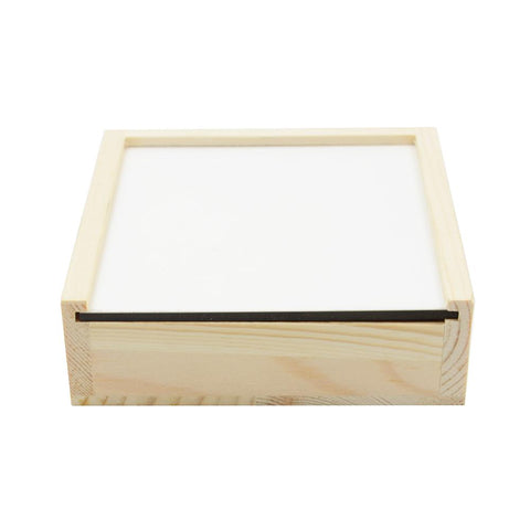 sublimation blank coaster holder box